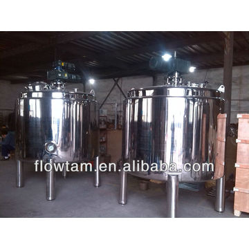 sanitary mixing tank with agitator/ food mixing tank